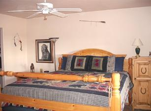 Cowboy Cabin AZ Rental Bedroom