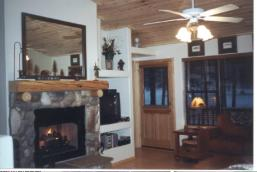 Family Room of the Bar S Cabin at Bison Ranch in Heber Overgaard Arizona