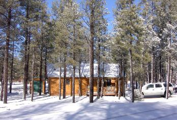 Winter guests can affordably stay at the Bar S rental cabin @ Bison Ranch while just a short hour drive to Sunrise Ski Resort or shorter 20 minutes to Forest Lakes for crosscountry skiing trails